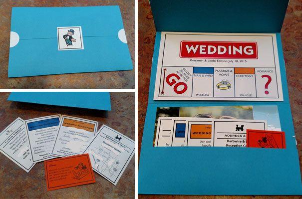 17 Desain Undangan Pernikahan Unik dan Super Kreatif