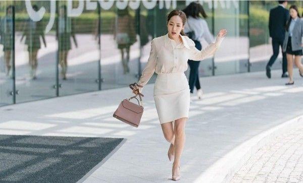 Tips memakai blazer layaknya wanita Korea