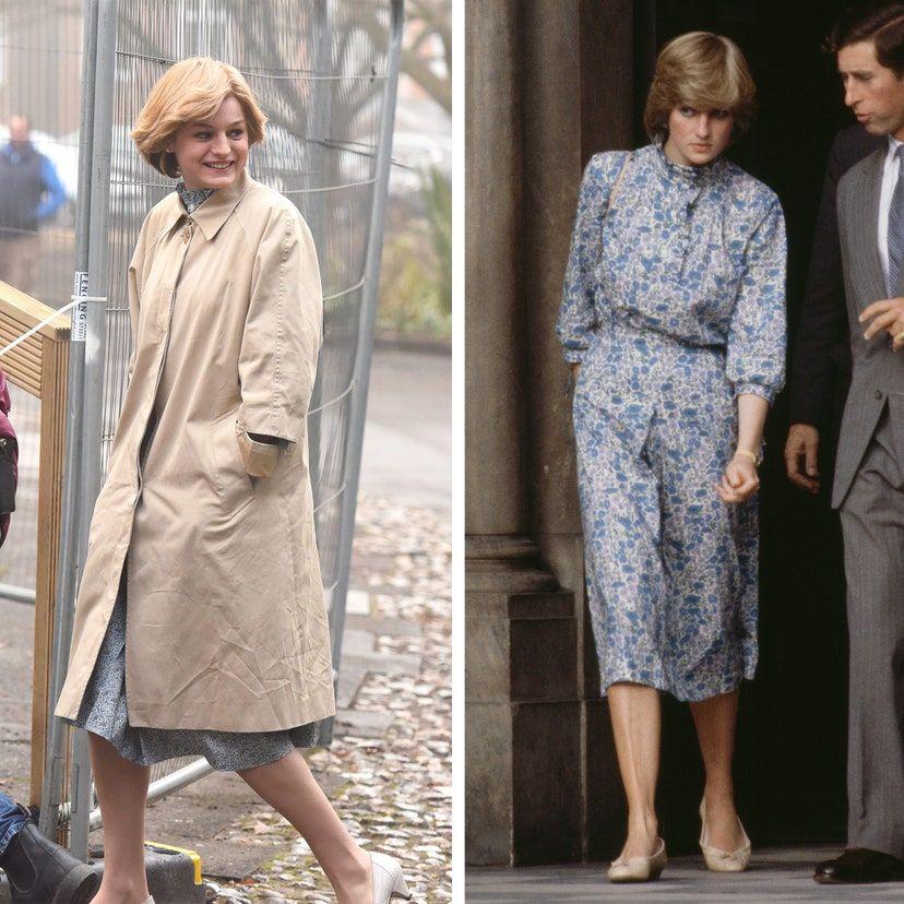 Perbandingan Gaya Putri Diana dan Emma Corrin di Serial The Crown