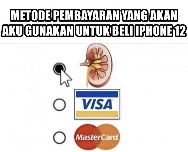 10 Meme Kocak iPhone 12 yang Baru Rilis Ini Bikin Ngakak