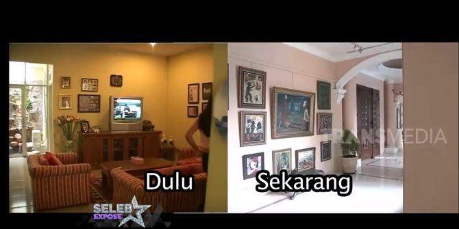 Beda Banget! 10 Foto Perbandingan Rumah Nia Ramadhani Dulu-Sekarang