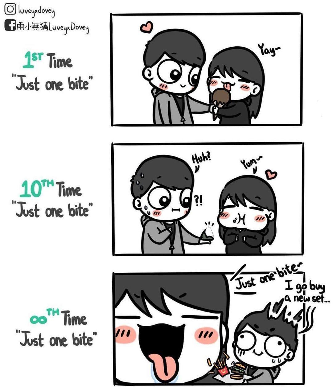 10 Komik Strip Ini Tunjukkan Bedanya Pasangan Setelah Lama Menikah