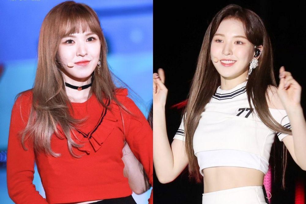 Intip Pesona Kpop Idol dengan dan Tanpa Poni, Favorit Kamu yang Mana?