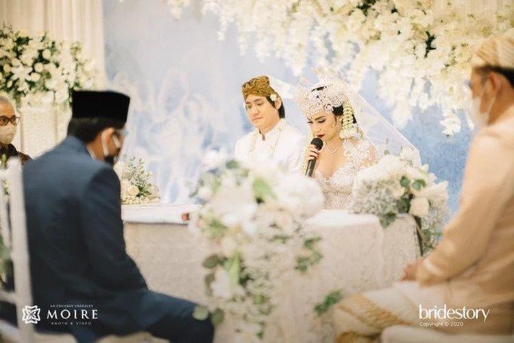 Didoakan Presiden, 11 Momen Pernikahan Kevin Aprilio dan Vicy Melanie