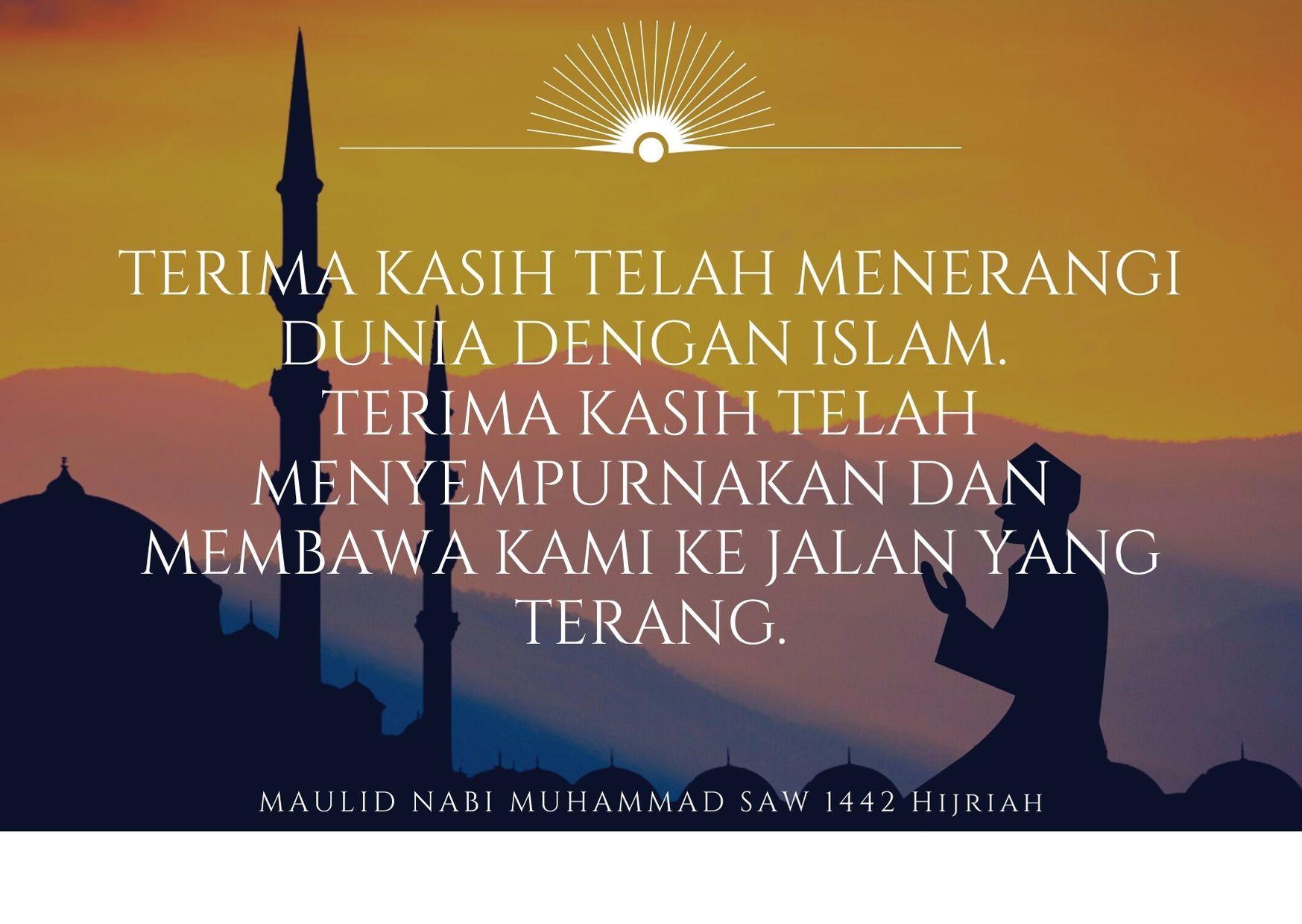Bentuk Kebahagiaan, Ini 15 Ucapan Maulid Nabi Muhammad SAW