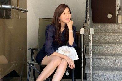Intip Gaya Kim Ha Neul Memesona Usia 42 Tahun