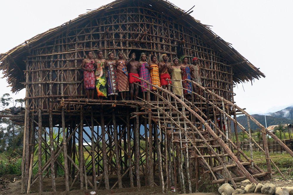 Sederhana dan Sarat Fungsi, Ini 7 Jenis Rumah Adat Papua