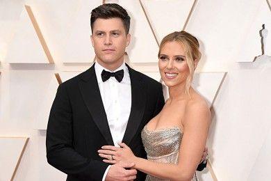 Resmi Menikah, Ini 5 Fakta Hubungan Scarlett Johansson & Colin Jost