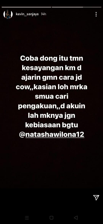 Kevin Sanjaya Marah dan Sebut Nama Natasha Wilona, Ada Apa?
