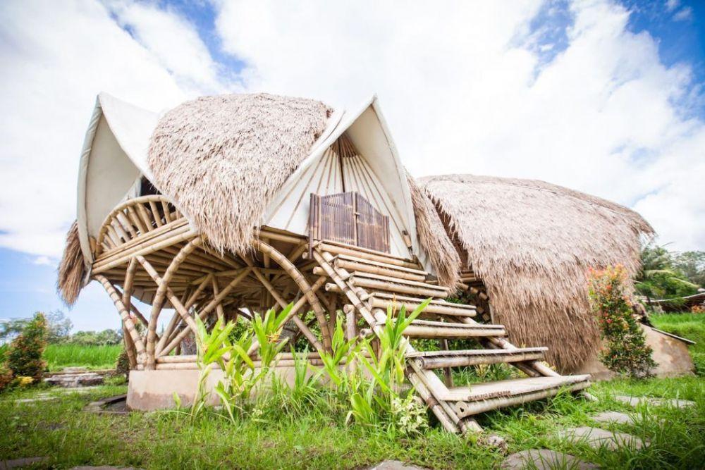 5 Destinasi Rumah Bambu di Bali, Super Cantik dan Sejuk Banget!