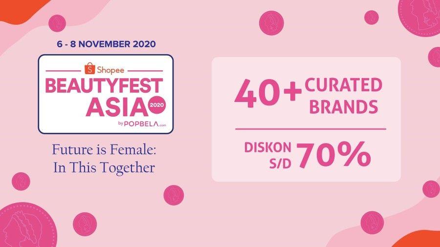 Gelaran BeautyFest Asia 2020 Dukung Perempuan Terdampak Pandemi