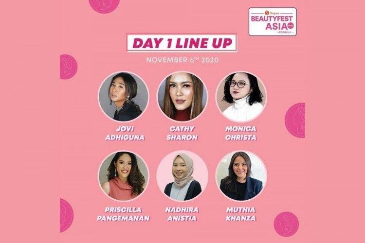 Akses Gratis Daftar Talk show dan Workshop BeautyFest Asia 2020 Day-1