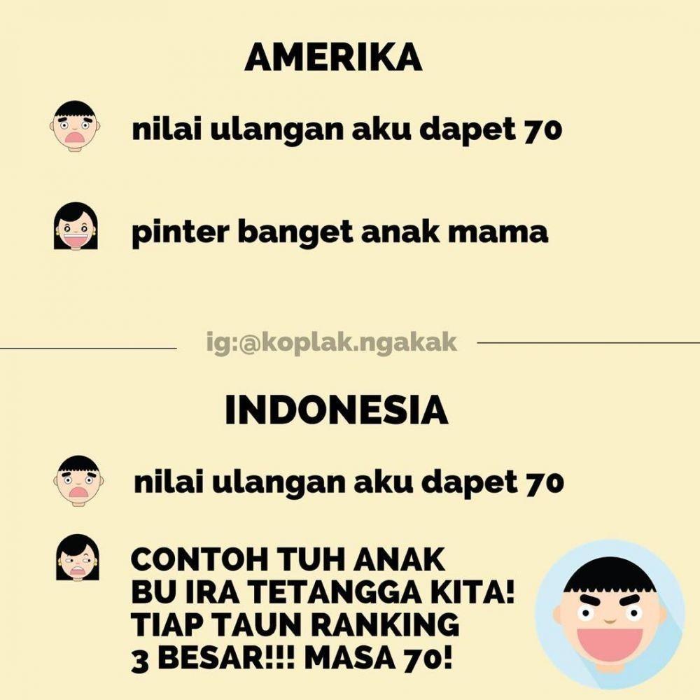 10 Meme Perbedaan Ibu-ibu Indonesia VS Luar Negeri, Kocak Banget Deh!