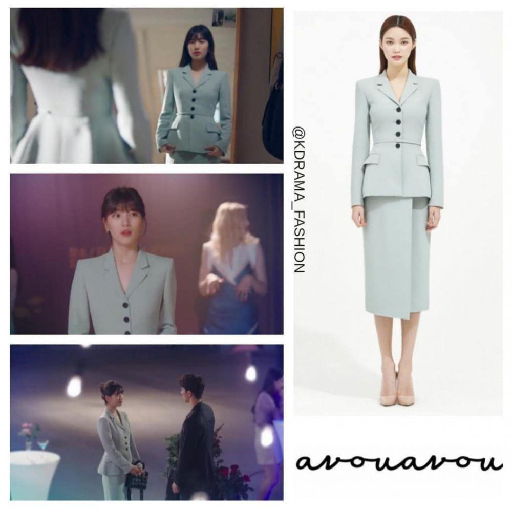 Bocoran Harga Outfit Bae Suzy di Serial KDrama Start-Up