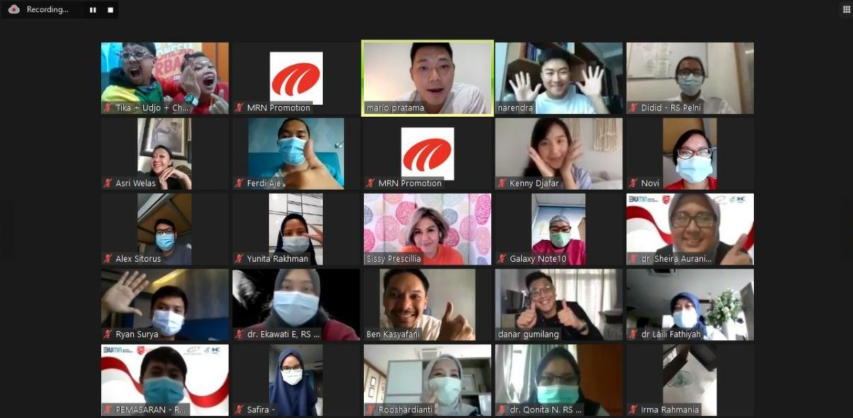 #MasimaBergerak, Inisiasi Masima Radio untuk Pasien COVID-19
