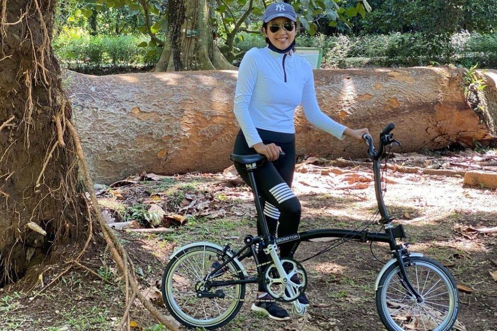 Komitmen Hidup Sehat, Intip Potret Olivia Zalianty yang Makin Bugar