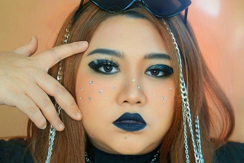 7 Makeup Karakter Selebgram a la Clarissa Putri, Kreatif Banget