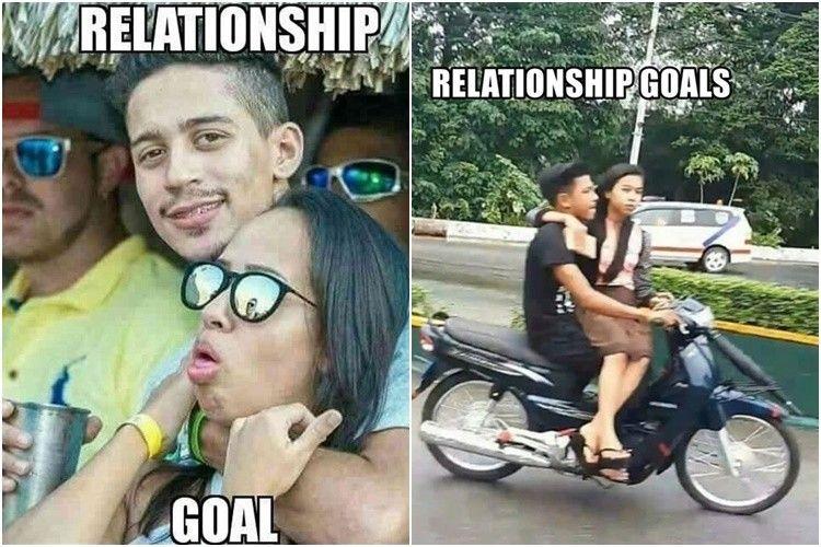 Gagal Romantis! 10 Meme Relationship Goals Ini Justru Bikin Ngakak