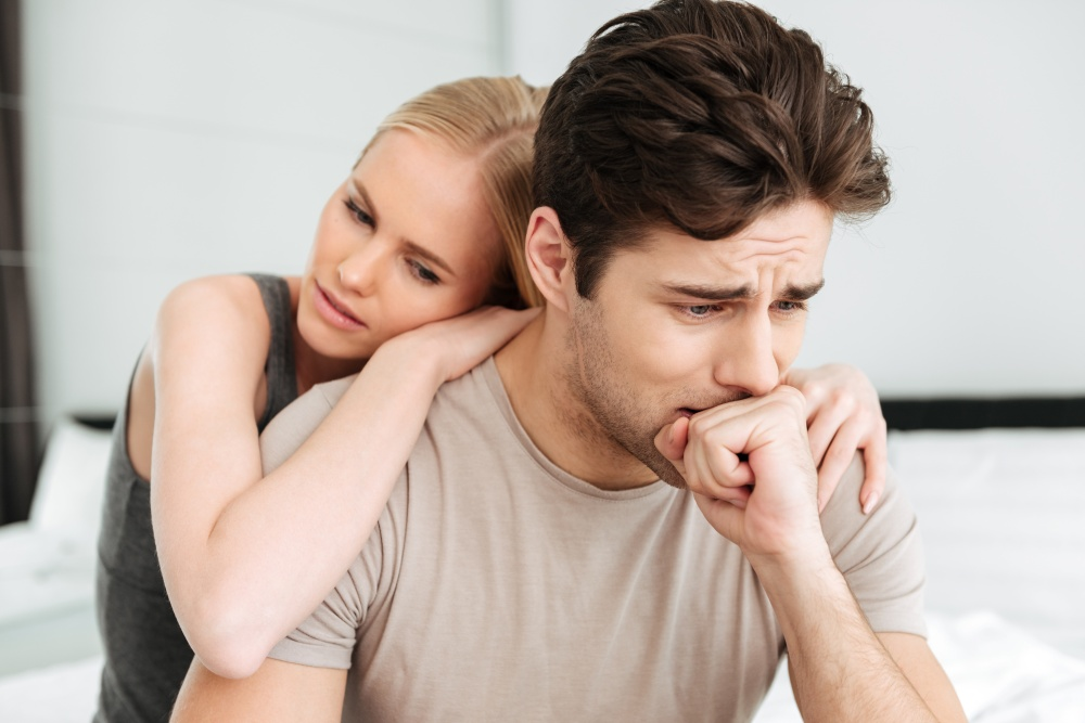 7 Cara Membantu Pasangan yang Menderita Gangguan Kecemasan