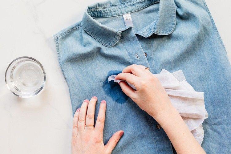 Cara Menghilangkan Noda Karat di Baju