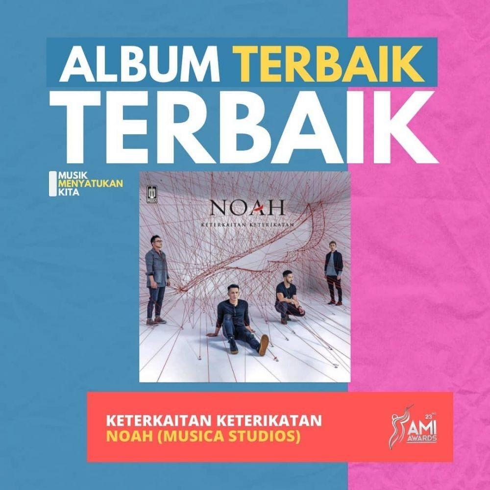 Karya Musik Terbaik Indonesia, Daftar Lengkap Pemenang AMI Awards 2020