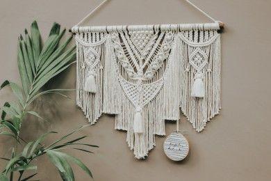 Dekorasi Dinding Estetik, Ini Cara Membuat Makrame