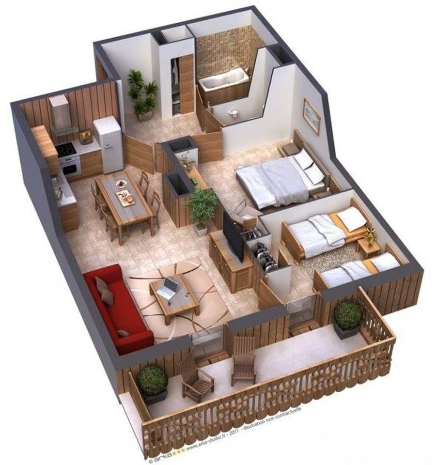 Inilah 7 Inspirasi Desain & Denah Rumah Minimalis Satu Lantai