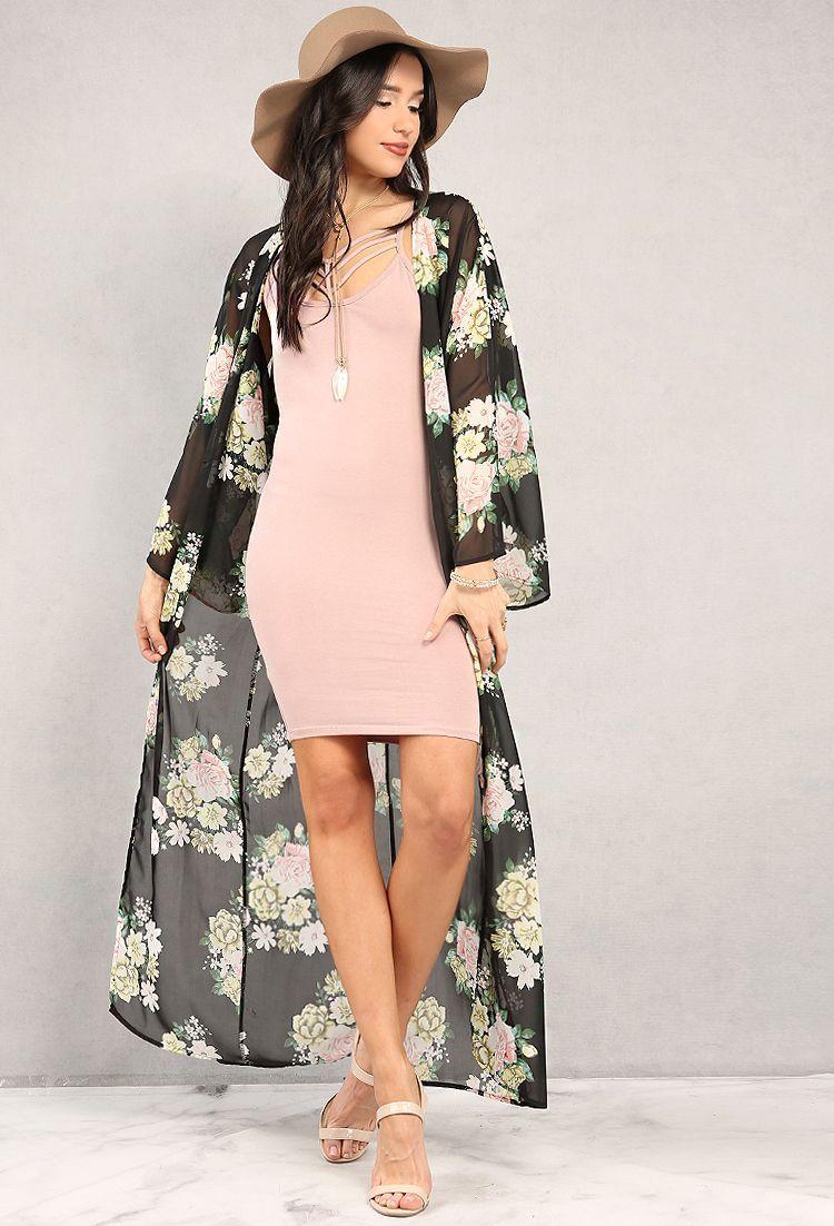 Inspirasi Pakai Kimono Untuk Outfit Sehari-hari