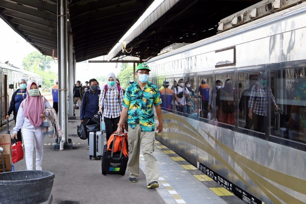 Natal & Tahun Baru, Simak Daftar 43 Kereta yang Berangkat dari Jakarta