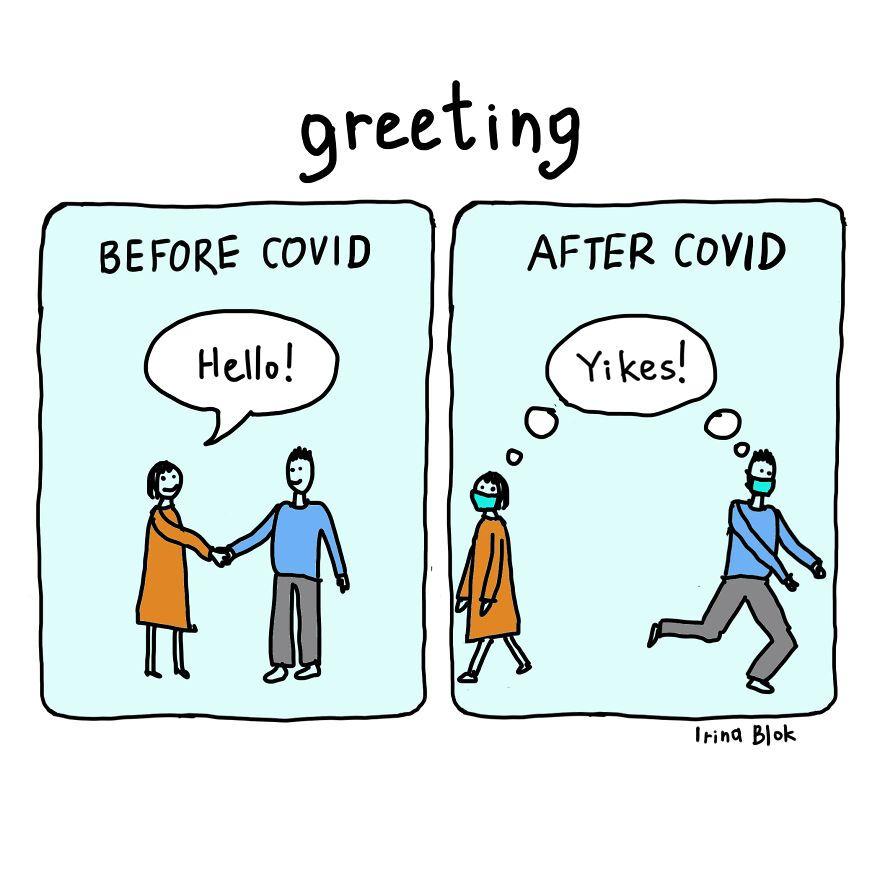 Akurat Tapi Ngeselin, Begini Ilustrasi Hidup Gara-Gara Ada COVID-19!