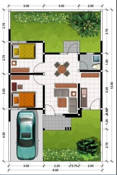 8 Inspirasi Desain RumahMinimalis Modern untuk Tipe 45
