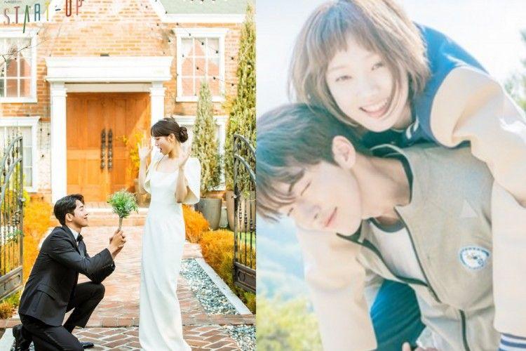 Adu Mesra, 10 Adegan Nam Joo Hyuk bareng Suzy vs Lee Sung Kyung