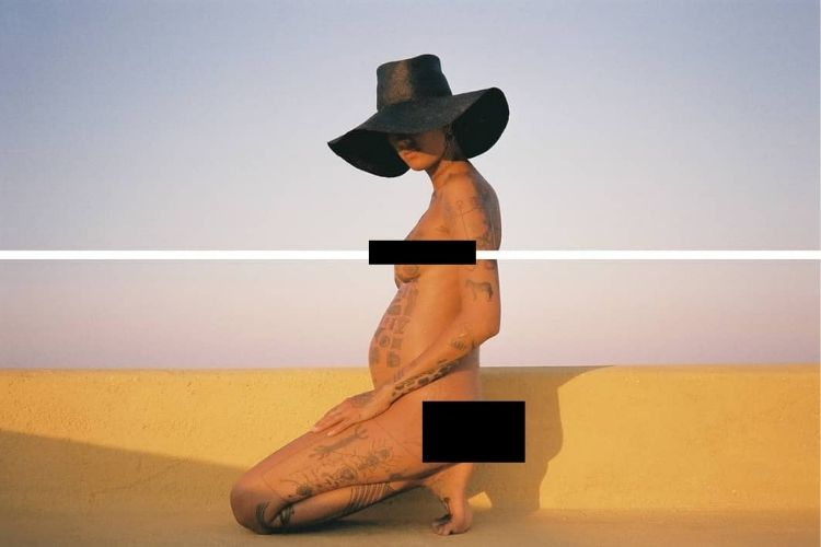 Berani Telanjang, Ini Potret Fahrani dengan Tato Seluruh Tubuh