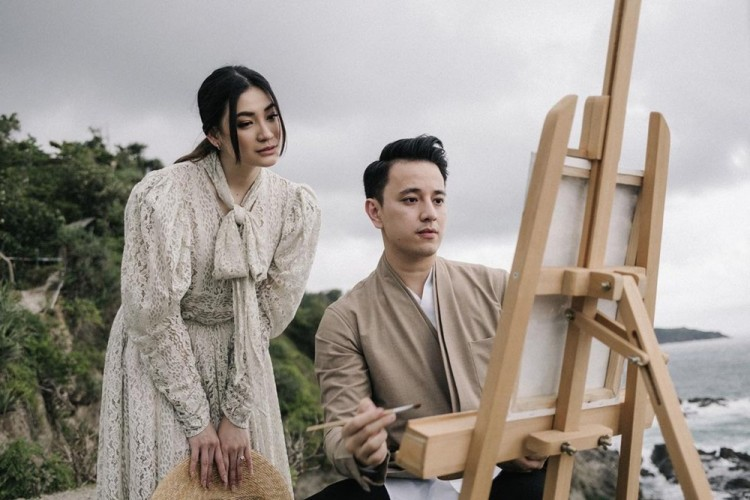 10 Foto Pre-Wedding Billy Davidson dan Patricia, Aesthetic Banget!