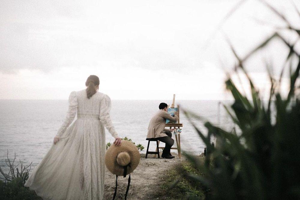 10 Foto Pre-Wedding Billy Davidson dan Patricia, Aesthetic Banget!