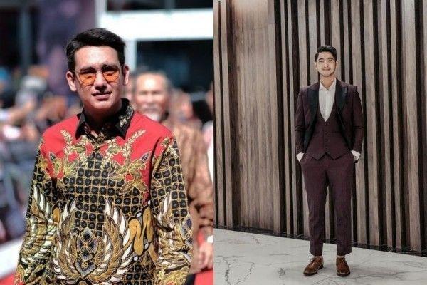 Jadi pria idaman, begini perbandingan gaya Adipati Dolken vs Arya Saloka