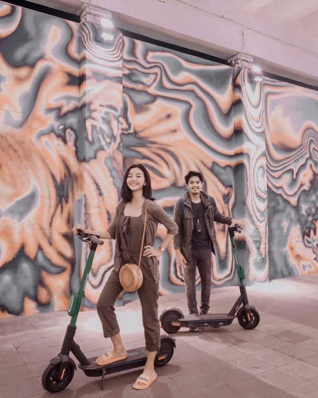 10 Foto Adu Mesra Glenca Chysara dan Pacar Asli vs Suami di Sinetron