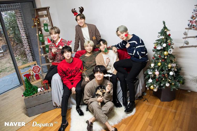 BTS hingga BLACKPINK, Inilah Playlist Lagu Natal dari Idola Kpop