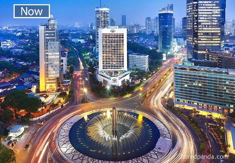 PerbandinganDulu dan Sekarang 10 Kota di Dunia Dunia, Beda Jauh!