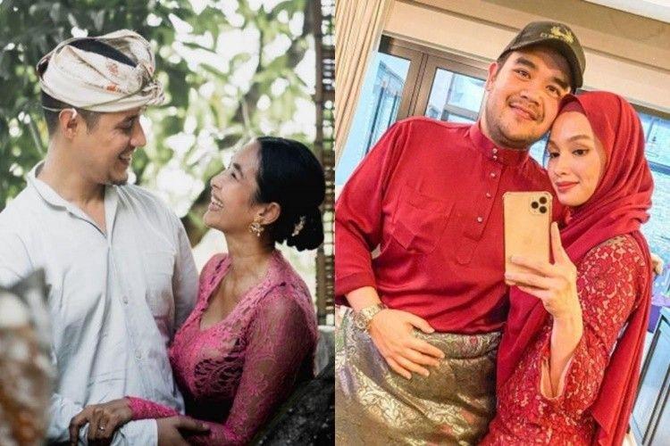 Dinikahi Bangsawan, 11 Adu Romantis Keluarga Happy Salma vs Tya Arifin