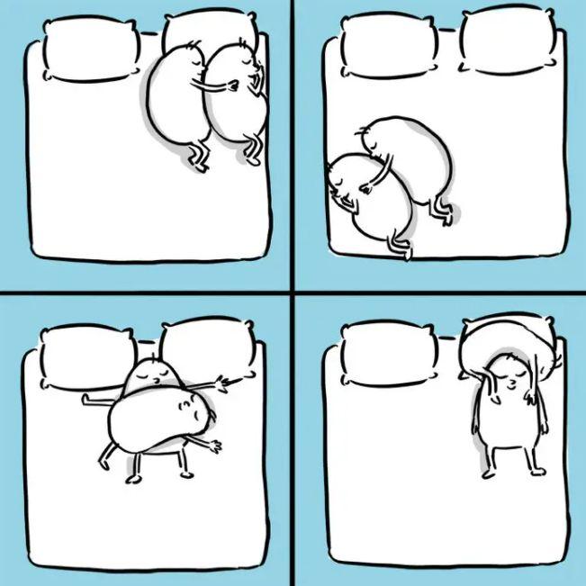 9 Ilustrasi Lucu Tanda Kamu Bucin Pada Pasangan