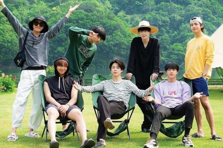 Dari Hasil Lukisan, Kepribadian Masing-Masing Anggota BTS Terbongkar