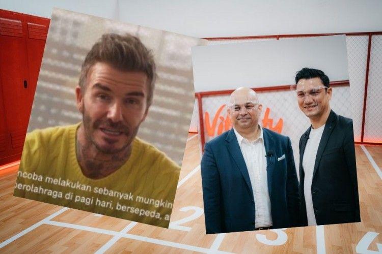 Ketemu David Beckham Secara Virtual, AIA Perkenalkan AIA Vitality