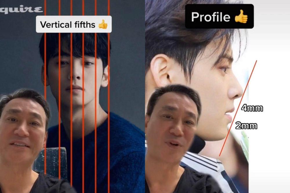 Dianggap Punya Bentuk Wajah Sempurna, Intip 9 Transformasi Cha Eun Woo
