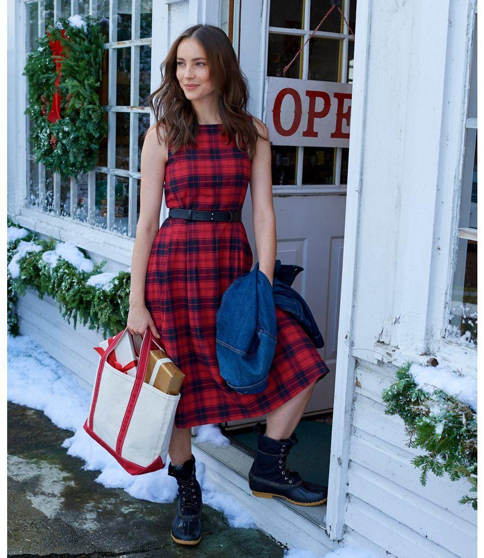 Inspirasi Memakai Dress Flannel untuk Sehari-hari