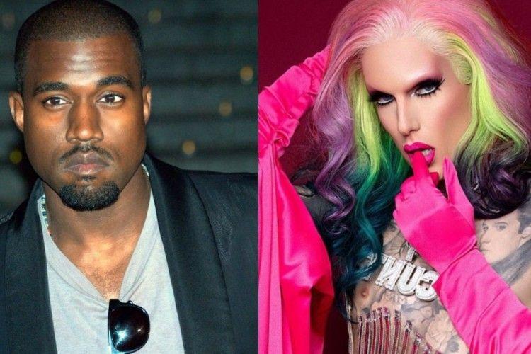 Viral Kanye West Selingkuh dengan Jeffree Star, Ini Fakta Sebenarnya