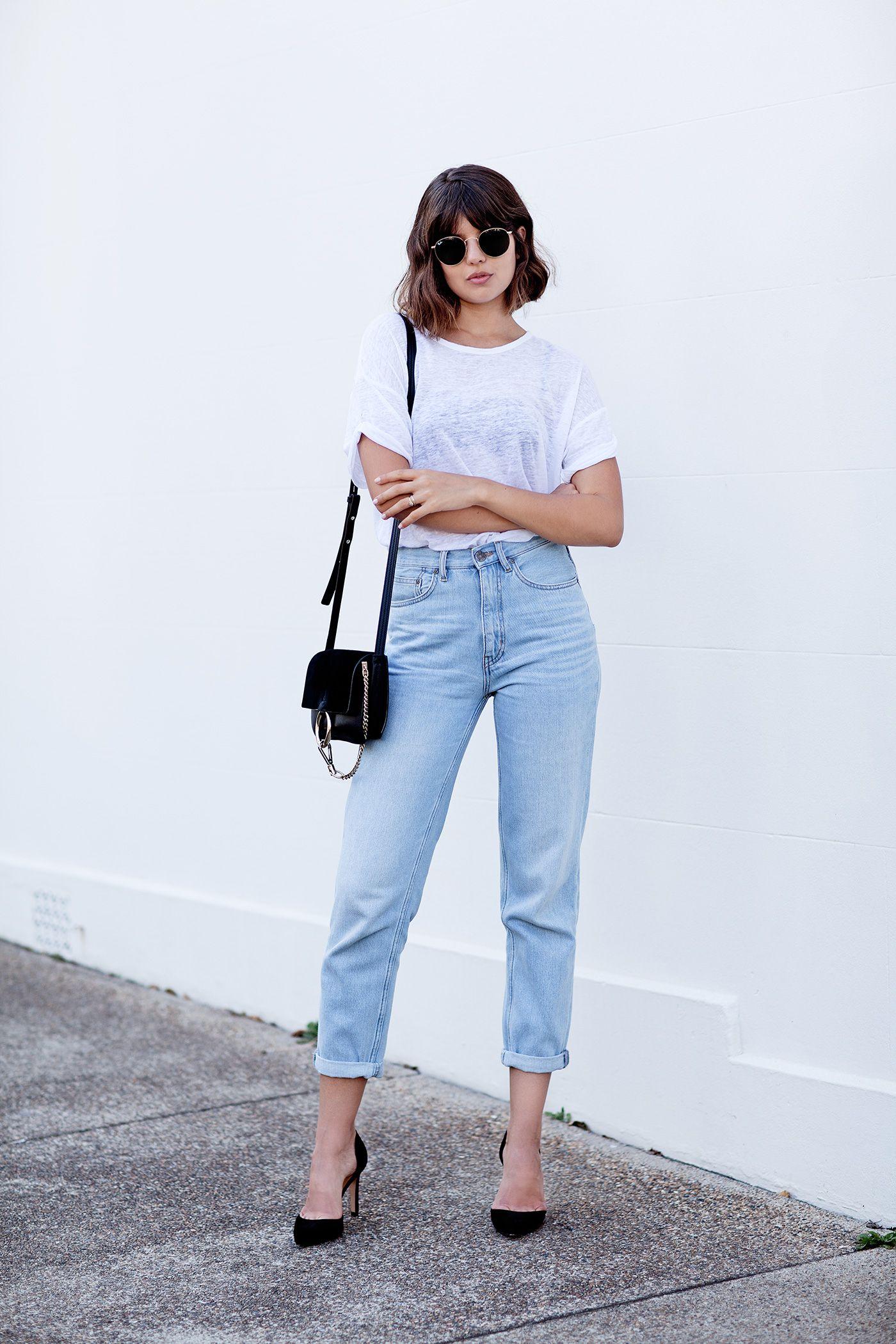 Inspirasi OOTD Street Style dengan Boyfriend Pants