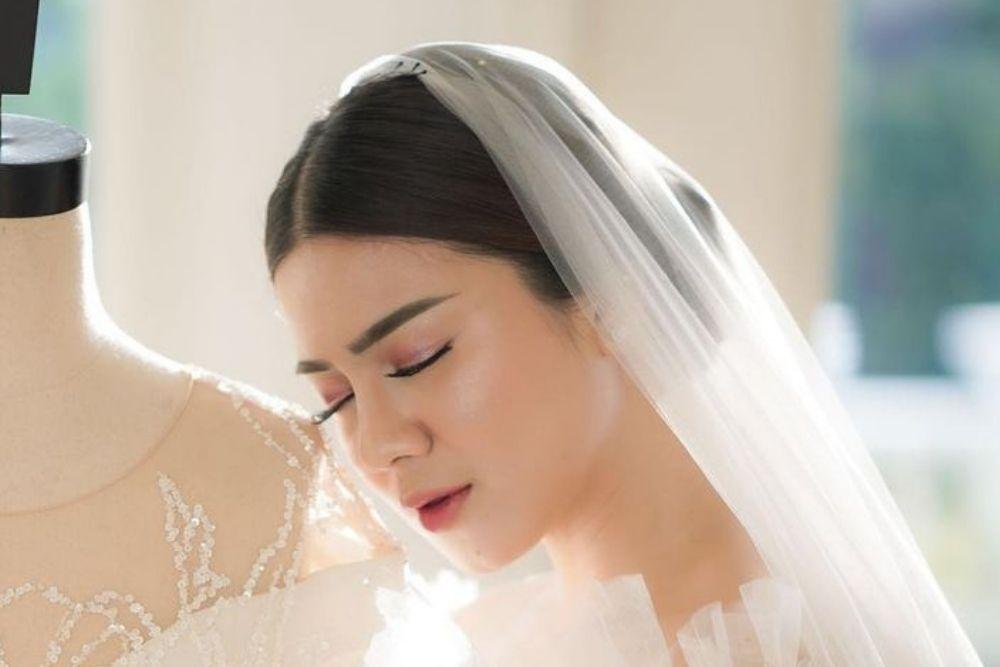 Tampil Bak Ratu, Intip Riasan Felicya Angelista ketika Menikah
