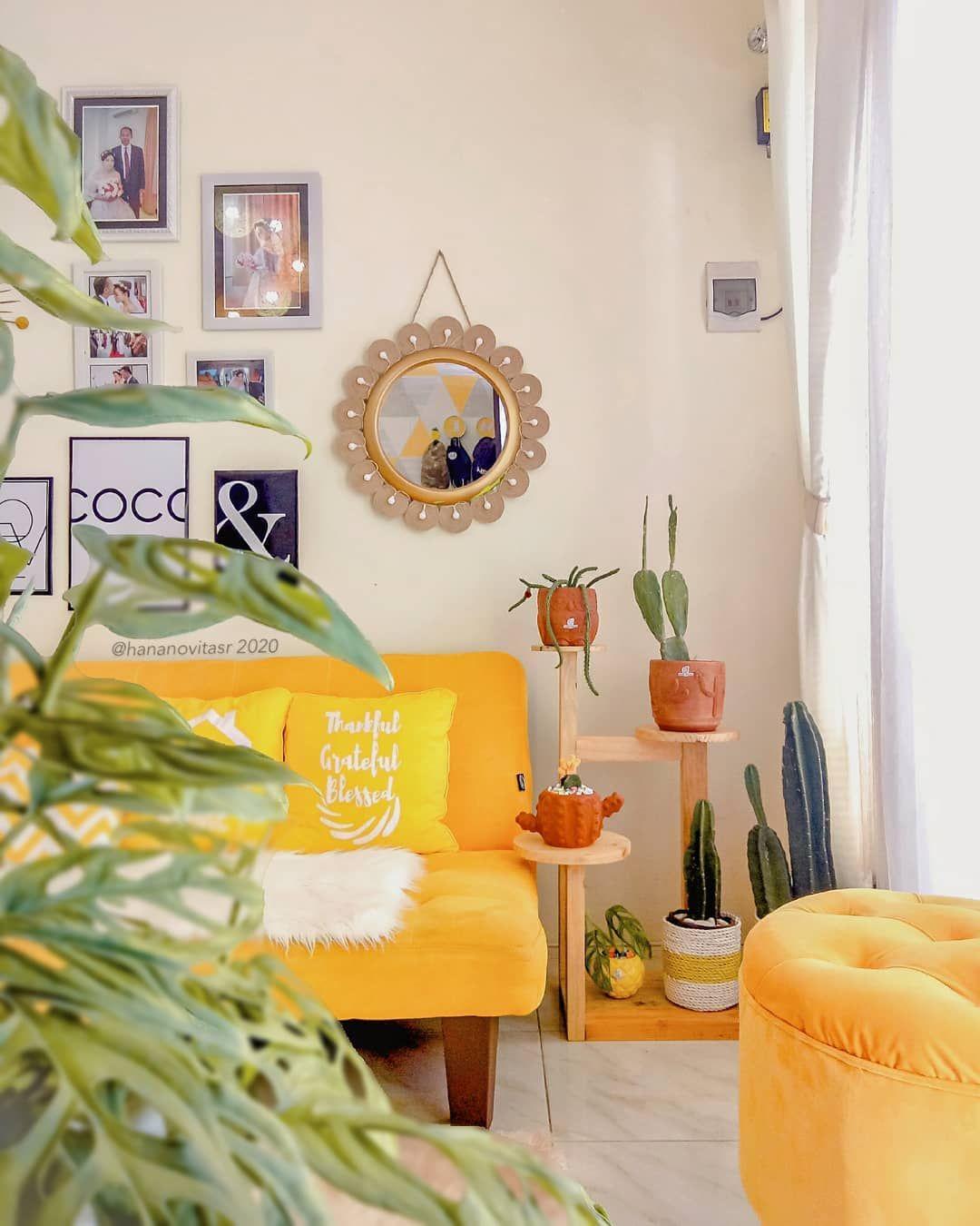Segar dan Hangat, Inspirasi Desain Rumah Minimalis Berwarna Kuning