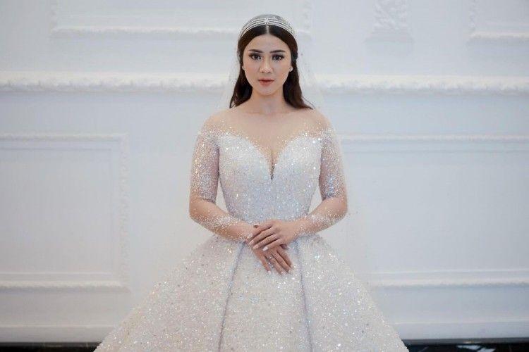 Gaun Glamor Felicya Angelista saat Menikah, Layaknya Putri Dongeng!